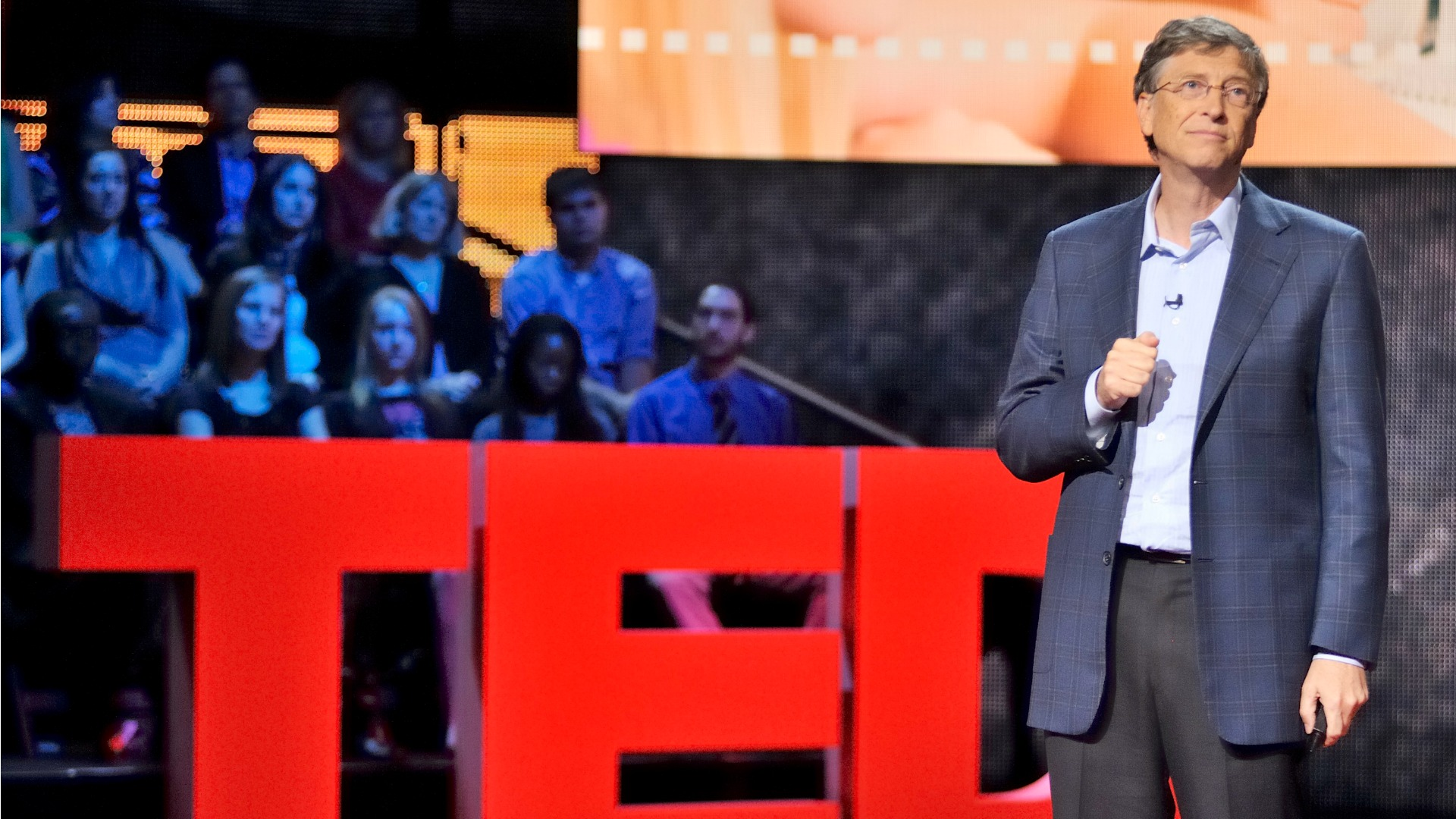 Bill Gates is an eminent speaker at TED talks and has given several talks which are extremely inspiring.