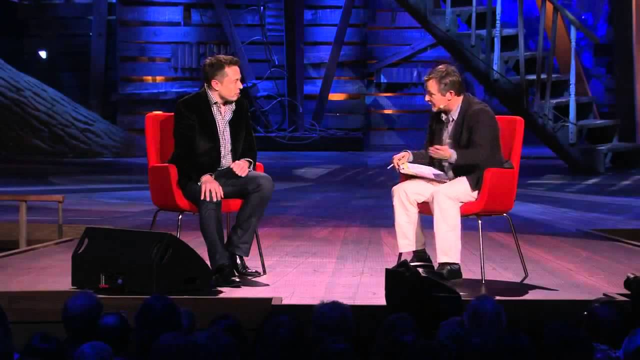 Elon Musk has been quite the inspiration for the current generation. He was interviewed on TED, there is enough and more to learn about his vision and mission.